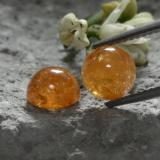 thumb image of 4.4ct Round Cabochon Orange Spessartite Garnet (ID: 227611)