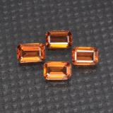 thumb image of 2ct Octagon Step Cut Orange Spessartite Garnet (ID: 295812)