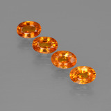 thumb image of 0.8ct وجه بيضاوى Fire Orange عقيق السبيسارتيت (ID: 402057)