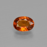 thumb image of 1.1ct Oval Facet Orange Spessartite Garnet (ID: 404171)