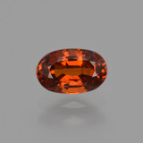 thumb image of 1ct Oval Facet Red Orange Spessartite Garnet (ID: 407212)