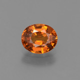 thumb image of 0.8ct Oval Facet Orange Spessartite Garnet (ID: 425813)
