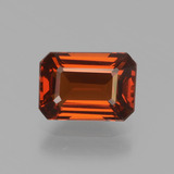 thumb image of 1.3ct Octagon Facet Orange Spessartite Garnet (ID: 439760)