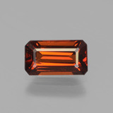 thumb image of 1.3ct Octagon Facet Orange Spessartite Garnet (ID: 439762)