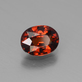 1.09 ct Oval Facet Orange Spessartite Garnet Gem 6.95 mm x 5.4 mm (Photo B)