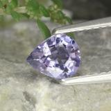 thumb image of 0.6ct Pear Facet Bluish Violet Spinel (ID: 252480)