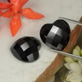 thumb image of 14.7ct Heart Rose-Cut Black Spinel (ID: 328314)