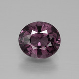 thumb image of 2.1ct Oval Facet Purple Spinel (ID: 369316)