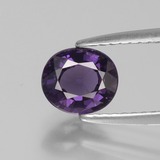 thumb image of 1ct Oval Facet Purple Spinel (ID: 400579)
