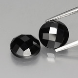 thumb image of 9.8ct Round Rose-Cut Black Spinel (ID: 426456)