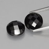 thumb image of 9ct Round Rose-Cut Black Spinel (ID: 426460)