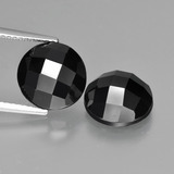 thumb image of 8.7ct Round Rose-Cut Black Spinel (ID: 426507)