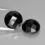 thumb image of 8.9ct Round Rose-Cut Black Spinel (ID: 426511)