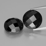 thumb image of 8.9ct Round Rose-Cut Black Spinel (ID: 426556)