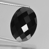 thumb image of 10.7ct Oval Rose-Cut Black Spinel (ID: 426662)
