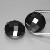 thumb image of 7.1ct Round Rose-Cut Black Spinel (ID: 426710)