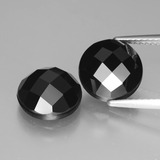 thumb image of 7.8ct Round Rose-Cut Black Spinel (ID: 426715)