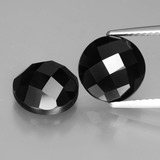 thumb image of 3.9ct Round Rose-Cut Black Spinel (ID: 426716)