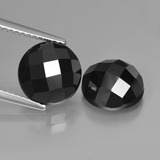 thumb image of 6.7ct Round Rose-Cut Black Spinel (ID: 426744)