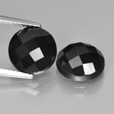 thumb image of 6.8ct Round Rose-Cut Black Spinel (ID: 426747)