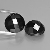 thumb image of 7.6ct Round Rose-Cut Black Spinel (ID: 426752)