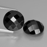 thumb image of 7.9ct Round Rose-Cut Black Spinel (ID: 426799)