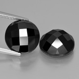 thumb image of 9.9ct Round Rose-Cut Black Spinel (ID: 426921)