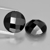 thumb image of 8.9ct Round Rose-Cut Black Spinel (ID: 426923)