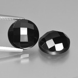 thumb image of 9ct Round Rose-Cut Black Spinel (ID: 426933)