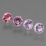 thumb image of 1.6ct Round Facet Violet Pink Spinel (ID: 431693)