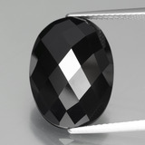thumb image of 13.7ct Oval Rose-Cut Black Spinel (ID: 438285)