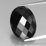 thumb image of 12.1ct Oval Rose-Cut Black Spinel (ID: 438288)