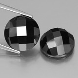 thumb image of 15.4ct Round Rose-Cut Black Spinel (ID: 438375)