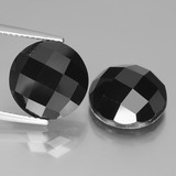 thumb image of 14.2ct Round Rose-Cut Black Spinel (ID: 438435)
