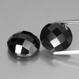 thumb image of 13.8ct Round Rose-Cut Black Spinel (ID: 438492)