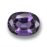 thumb image of 1.9ct Oval Facet Violet Spinel (ID: 461367)