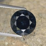 thumb image of 4.4ct Round Facet Grayish Blue Spinel (ID: 467379)