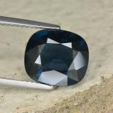 thumb image of 4.5ct Cushion-Cut Grayish Blue Spinel (ID: 467380)