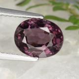 thumb image of 2.2ct Oval Facet Pinkish Purple Spinel (ID: 469602)