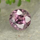 thumb image of 0.7ct Round Facet Pinkish Violet Spinel (ID: 483166)