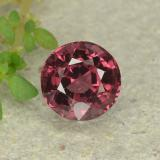 thumb image of 0.7ct Round Facet Pink Red Spinel (ID: 483200)