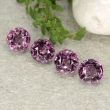 thumb image of 2.3ct Round Facet Purple Pink Spinel (ID: 483440)