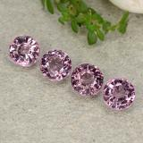 thumb image of 2.3ct Round Facet Purple Pink Spinel (ID: 483441)