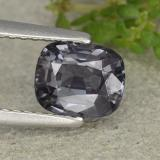 thumb image of 1.1ct Cushion-Cut Grayish Blue Spinel (ID: 483708)
