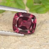 thumb image of 1.3ct Cushion-Cut Purplish Red Spinel (ID: 484420)