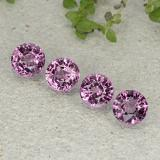 thumb image of 2.3ct Round Facet Purplish Pink Spinel (ID: 484975)