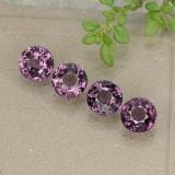 thumb image of 2.2ct Round Facet Purplish Pink Spinel (ID: 484979)