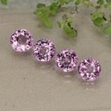 thumb image of 2.3ct Round Facet Purplish Pink Spinel (ID: 484982)