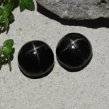 thumb image of 4.7ct Round Cabochon Black Star Diopside (ID: 480479)