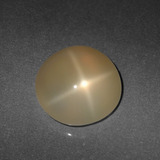 thumb image of 5.3ct Round Cabochon Cream Peach Star Moonstone (ID: 418675)